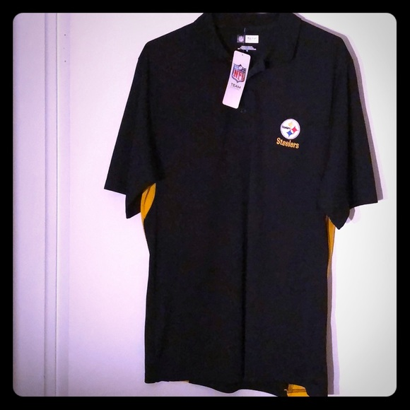 Pittsburgh Steelers NFL Team Apparel polo 48a296b97